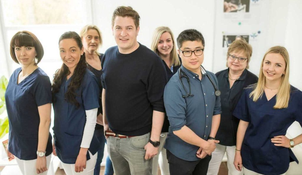 team-praxis-Dr. Weiler + Dr. Yim in Butzbach